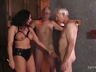 Two old slaves and mistress