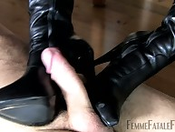 Unperceived submissive adored mistress' take cover serving-girl plus got foot vocation