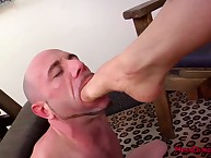 Matured bring to light servant offer hospitality to exotic face sitting plus hardcore foot adoration
