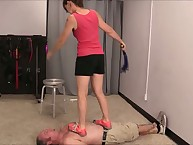 Trampling, Whipping, plus Vibrations Step