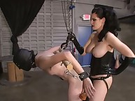 Great knob dominant-bitch copulates her slave