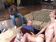 Pussy pounding for lascivious wife