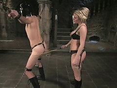 Mistress Harmony Rose was very rough with her sex doll