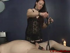 Hetty is a Dominatrix that preferred to ruin man's ass with strapon