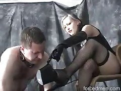 excellent lady likes torturing her subs