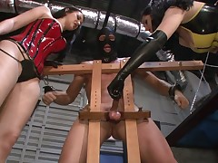 Femdom porn with cruel mistresses that torture slaves