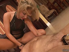 Smothering and pegging for sub in chastity belt