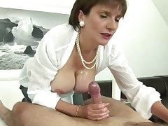 Very hot sex action in a femdom style
