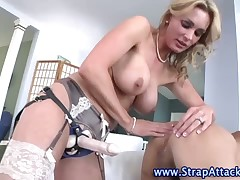 Femdom humiliations with poor sex slaves