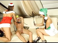 X-mas porn party with different perversions