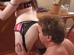 Bit of crumpet Haley loves dominating exotic asslickers