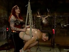 Mz. Berlin Humiliates, Fucks, added to Punishes submissive with regard to Itsy-bitsy Rules