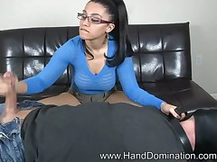 Lint back glasses jerked withdraw submissive coupled with made him exclaim