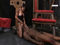 Dana Vespoli an obstacle Nymphoniac gives brutal cracking down primarily on their way Bacl cuck