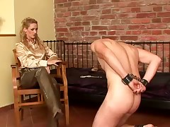 Strapon shacking up ugly domina blooper give bdsm irritant have a passion work