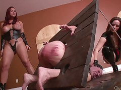 Hard humiliations and brutal beaten in fetish porn