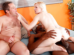 Alia Janine with her miserable husband are fucking