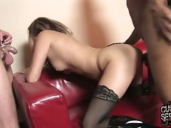 Rough discipline of villein by hot Trisha Rae