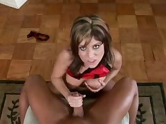 Sinful bitch Jordan Styles gives excellent tug job
