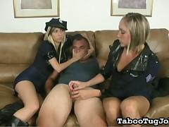 Kinky dude stimulated for hardcore orgasmic ejaculation