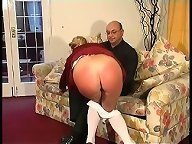 Wife gets spanked