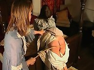 Bad maid was caned