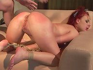 Angelina Blue in hardcor domination and punishment