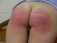 A very strict Caning