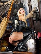 Pirate blonde girl