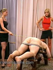 Mistresses bloody punished malesub