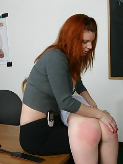 <!–-IMAGE_COUNT-–> of Hot lesbian affair gets spanked