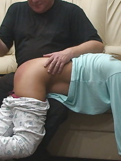 10 of Anita - Pajamas Casting and Rectal Examination