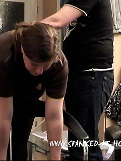 <!–-IMAGE_COUNT-–> of Daughter gets caning and paddling