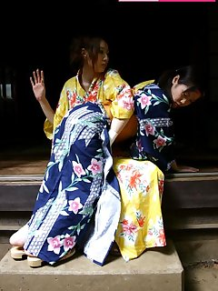 <!–-IMAGE_COUNT-–> of Two japan teens gets spanked