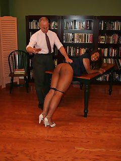 <!–-IMAGE_COUNT-–> of Dani Hunt spanked and paddled