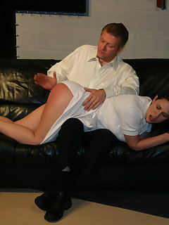 <!–-IMAGE_COUNT-–> of Nurse page bare bottom spanking