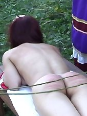 Russian caning action