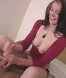 Sexy hot honey whacking long rod