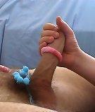Blue Thing Handjob - Sandra Handjobs - I l..