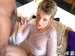 Girl giving POV blowjob and handjob