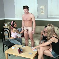 Humiliation Strip Poker Cum Eating