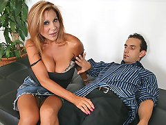 Busty Milf travels coast to coast for her huge dick to fuck