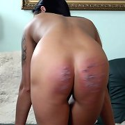Caning of young woman