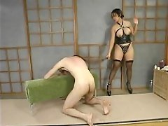 Boy caned and fucked in the ass