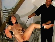 A master punished slavegir hard