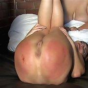 Bare bottom spanking and paddling..