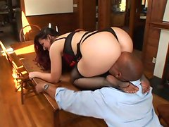 Male foot lover worships her feet and ass