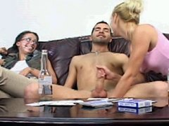 The sexy CFNM climax to a strip poker game gone right