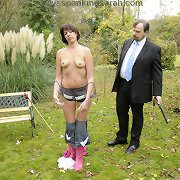 Husband spanked milf otk outdoor
