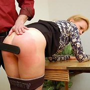 Bad wife spanked hard